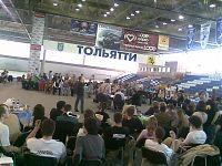 Пародия на теледомик — игра с тольяттинскими телезрителями. Ради этого убрали один тур ЧГК. Впрочем, учитывая качество отыгранных вопросов — абсолютно не жалко :(