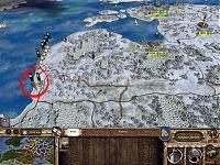 Восемь стеков элитных войск Тевтонского ордена высадились на побережье Ливонии.