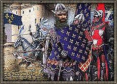 Гибель королевства Франция.