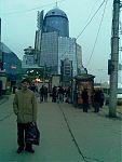 А вот этот «дворец Дарта Вейдера» — ж/д вокзал города Самары. Просто так, чтобы было с чем сравнить :-)
