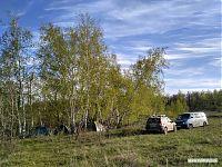 Лагерь в Даниловской балке.