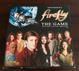 Firefly The Game - настольная игра по вселенной «Светлячка»