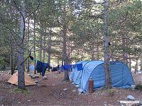 Наш базовый лагерь.