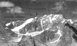 Описание маршрута на Тютю Западную по Западному гребню.