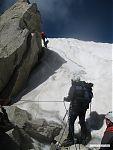 Один из техничных ледовых участков.