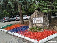 Памятник герою Гражданской войны.