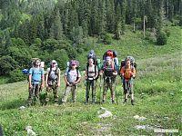 Традиционная групповая фоточка в начале пути.