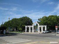 Детский парк, объединённый с Парком Победы.