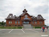 Свияжский речной вокзал.