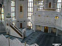 Внутреннее убранство мечети Кул-Шариф.