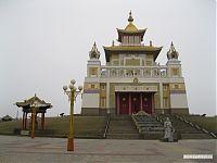 Храм Будды в Элисте.