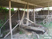 Рыбацкая лодка XVIII века.