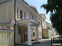 Вход в музей А.С.Пушкина в Уральске.
