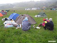 Базовый лагерь на «поляне Эммануэля» (2584).