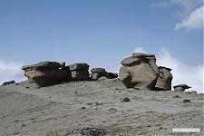 Скальные останцы на «Грибах».