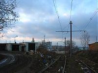 Линия трамвая №8.