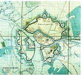 Генеральный план Брест-Литовской крепости 1847 г.
