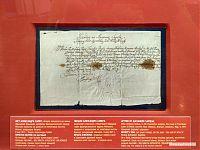 Письмо Александра Сапеги, виленского епископа, к Франтишке Юдицкой, главе францисканского ордена Минского конвента о разрешении на некоторые льготы. 9 мая 1671 года.