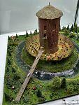 Миниатюра Каменецкой башни, реконструкция вида в XV веке.