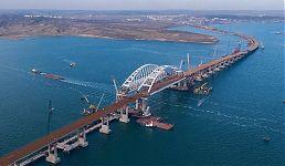 Крымский мост. Вид сверху.