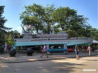 Торпедный катер на Сапун-горе.