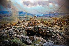 Один из самых известных фрагментов диорамы «Штурм Сапун-горы».