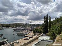 Вид на севастопольский порт.