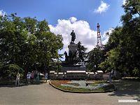 Памятник Э. И. Тотлебену.