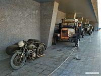 ГАЗ-55М, «полуторка», мотоцикл.
