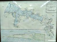 Карта побережья Чёрного моря.