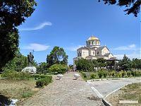 Владимирский кафедральный собор в Херсонесе.