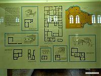Схемы раскопанных домов.