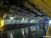 Вид на подземный водный канал.