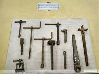 Специальные инструменты для проведения регламентных работ с ядерным боезарядом.
