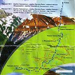 Картосхема маршрута.