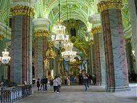 Петропавловский собор. Вид изнутри.