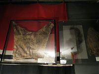Один из экспонатов военно-медицинского музея: дублёная человеческая кожа из данцингского анатомического института.