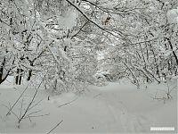 Суровая саратовская зима.