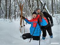 Без лыж зимой в лесу делать нечего.