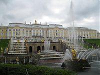 «Большой Самсон». В комплексе — 142 фонтана.