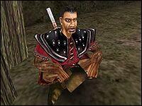 Пачо - обычный стражник Старого Лагеря.