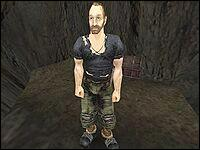 Гилберт — отшельник, живущей в пещере высоко в горах, недалеко от Старого лагеря.