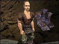 Глен, как и Алеф со Снайпсом, принадлежит к воровской шайке Старой Шахты.