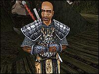 Гор На Ран, как и другие стражи, заботится о безопасности лагеря, гуру и послушников.