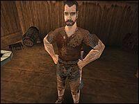 Грехэм, житель Внешнего кольца Старого Лагеря — картограф.