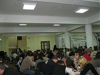 Аудитория, в которой проходил фестиваль «Город героев 2010».