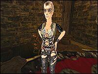 Как и Сира, Серафия трудится в замке Старого Лагеря, в доме, где живёт Гомез и другие бароны.