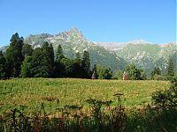 Вид на полянку-стоянку.