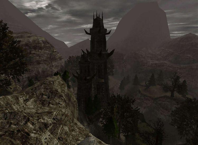 Бывшая башня Ксардаса.