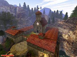 Монастырь Инноса. Вид сверху.